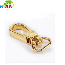 High quality Custom Brass Gold Plated Lobster Claw Clasp With Swivel