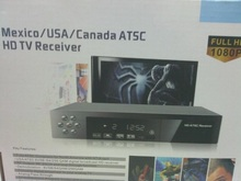 Home use new super ATSC Model VCAN0880 TV receiver for north America with NT/A cert