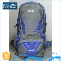 China OEM customize outdoor hiking camping 8253c 55L dry bag backpack with brand name