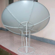 2.4 m c band big satellite dish antenna