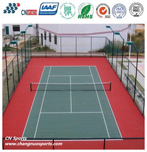 Liquid Silcion PU Tennis Court Covering Protect People's Joint when Playing Ball Games