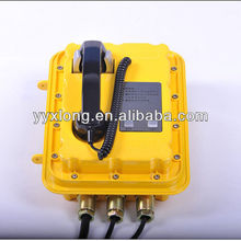 IP65 secretarial weatherproof explosion proof telephone