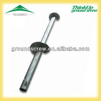 OEM ground screw pile factory high quality wholesales cheap solar ground mounting anchor