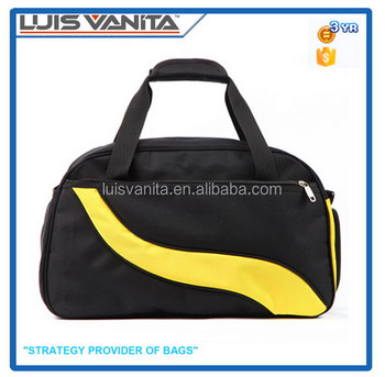 Black Travel Bag,Travel Tote Bag with Shoe Compartment