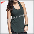 wholesale activewear sports wear women's scoop neck fitness gym tank tops yoga apparel