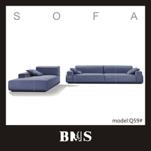 Hot selling long warranty of 8 Years ocean style furniture classic fabric couch living room sofa