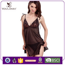 Factory Design Very Sexy T-pants Black women hot sexy image babydoll lingerie