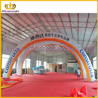 China Commercial decoration lighting inflatable balloon arch