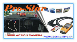 the newest pro racing full hd 1080p sport video camera,remote control,2 inch screen