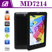 MTK 8312 dual core 1G 16G 1024*600IPS 3G+WIFI+BT new vision 7 inch 3g best low price tablet pc with phone call function