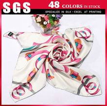 Manufacture of thai silk scarves for sale