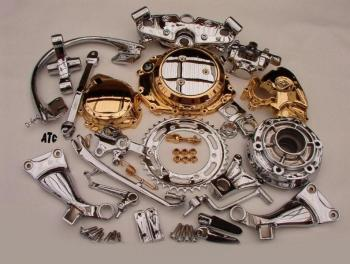 HAYABUSA CHROME OEM PARTS GSXR ZX14R