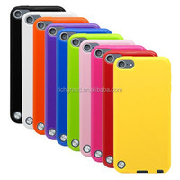 Factory price TPU rubber gel case skin cover for ipod touch 5 5th