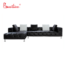 Russia Design Leather Sectional Sofa Chesterfiled Sofa Home Furniture