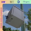 6U 19 inch outdoor cabinet mounted pole /wall mount enclosure