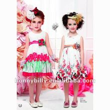 2012 new fashional korean children dress , baby clothes branded