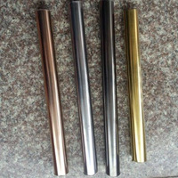 Good Price As Customers' Request Colour Stainless Steel Round Tube