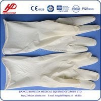 clinic hand care latex surgical glove