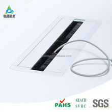 Electronics Display Cabinets Duct Sealing Brush Grommet and Extrusion