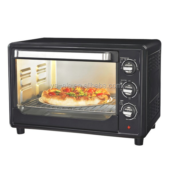 30L best selling white convection toaster oven with inside lamp