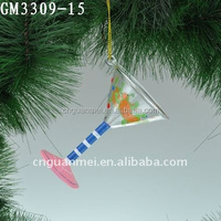 Fairy Glass Goblet Christmas Tree Ornaments