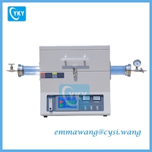(CE Certificated)1200 Celsius High Temperature Tube Energy-Saving Vacuum Furnace
