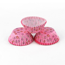 Low Price Round Shape Colorful Food Grade Wedding Cup Cake Wrappers