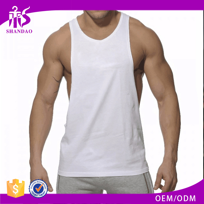 Guangzhou Shandao High Quality Bright Colors Spandex Sleeveless Muscle Fit sports inner wear