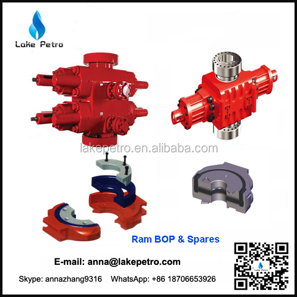 Factory API Blowout Preventer and BOP spare parts for sale