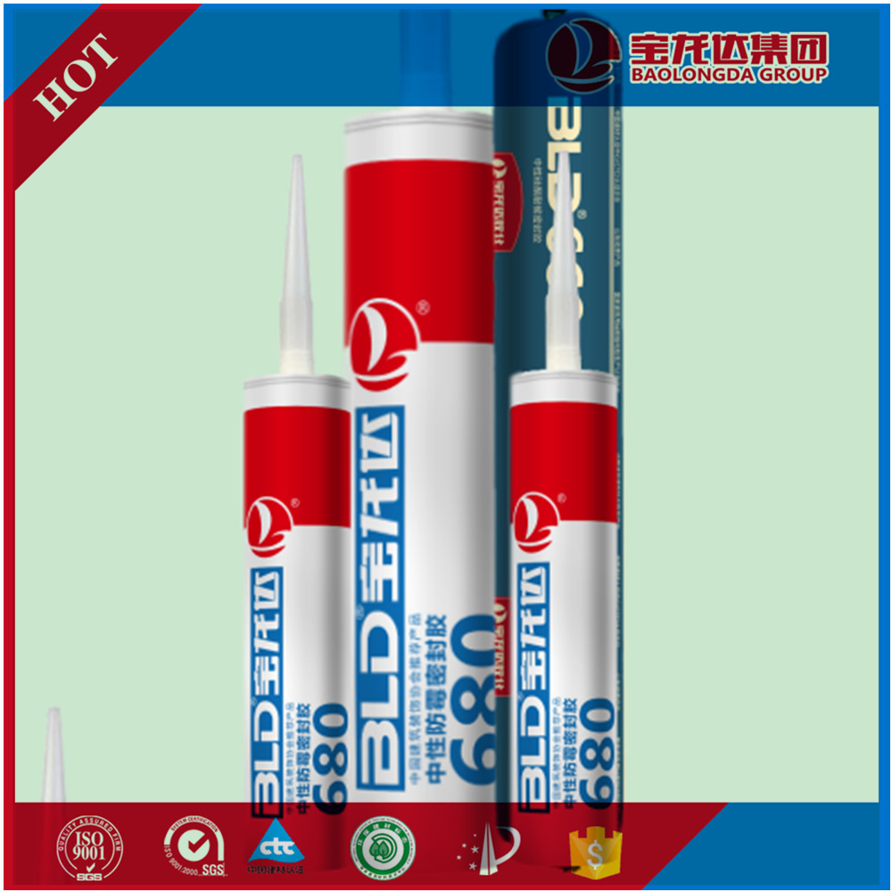 Super Quality 100% Neutral weather-proof Construction Usage Silicone Sealant