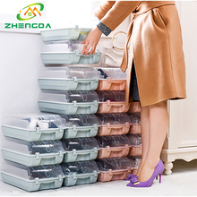Wholesale custom clear acrylic giant plastic shoe packing box drawer