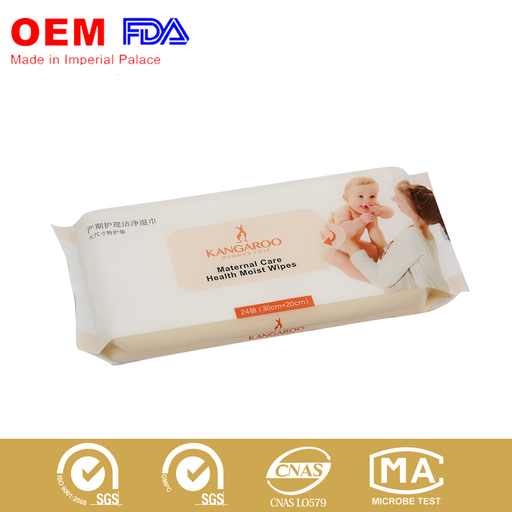Maternal Care Health Moist wipe. wet wipe for new moms