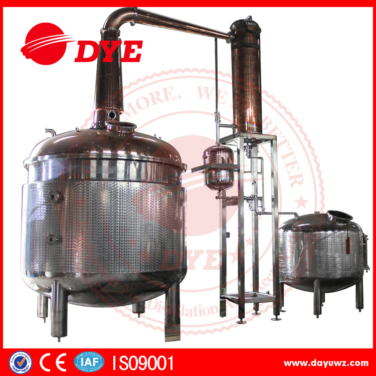 moon copper alcohol distilling system whishkey / gin pot still equipment