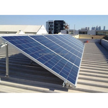 500W 1KW Solar Panel Rooftop Aluminum Rack Mounting