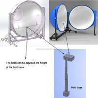 IS-MA 1.5m flux meter sphere for lights measuring photometry colorimetry & electricity parameters
