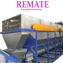 OEM factory good quality SUZHOU REMATE hot washed chemical washed PET flakes machinery