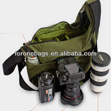 fashion nylon dslr digital shoulder camera pouch bag