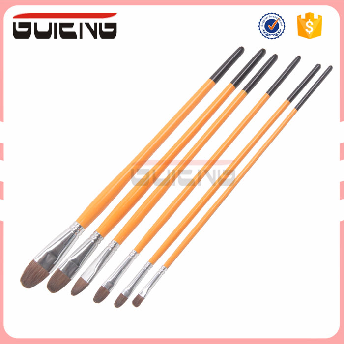 2017 Guteng Wholesaler Art Supplies Horse Essential Art Oil paint brush set
