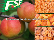 price for wholesale chinese IQF/frozen apricot halves/dices 2016 new season