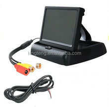 "4.3"" TFT LCD Auto Car Monitor Foldable Rearview Mirror Monitor"