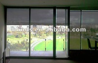 Indoor manual Solar Roller Blinds / cheap sheer curtains / polyester curtains