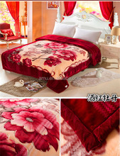 2016 high quality 100% polyester korean blanket wholesale