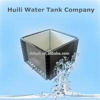 Factory price!! Huili sintex sectional panel water storage tank