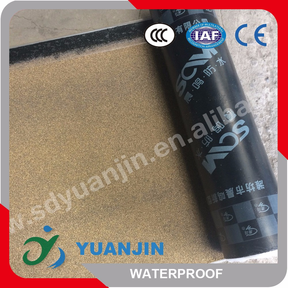 Professional sbs asphalt waterproof breathable tar paper membrane