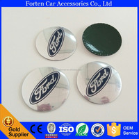3D Aluminum Alloy Car Wheel Center Hub Caps Sticker Emblem For Ford