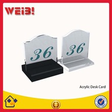 High Quality Display Acrylic Desk Stand