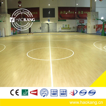 Superior Quality Maple Pattern Indoor Basketball Court PVC Flooring