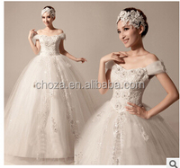 C63153A Sexy bride wedding puffy dress for ladies