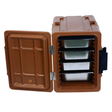 KJB Catering Equipment GN Food Pan Carrier Plastic Insulated Thermo Food Warmer Box For Outdoor Transportation