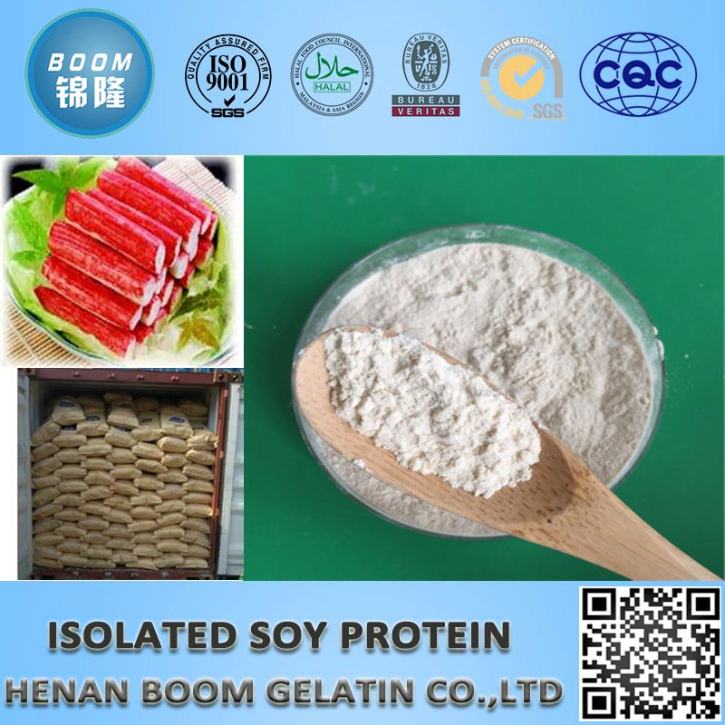 High purity soy isolate protein food grade 90%